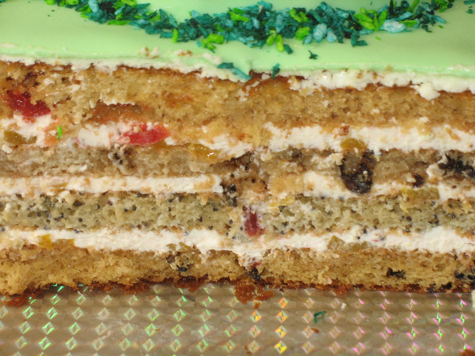 Рецепты тортов с орехами и маком пошагово