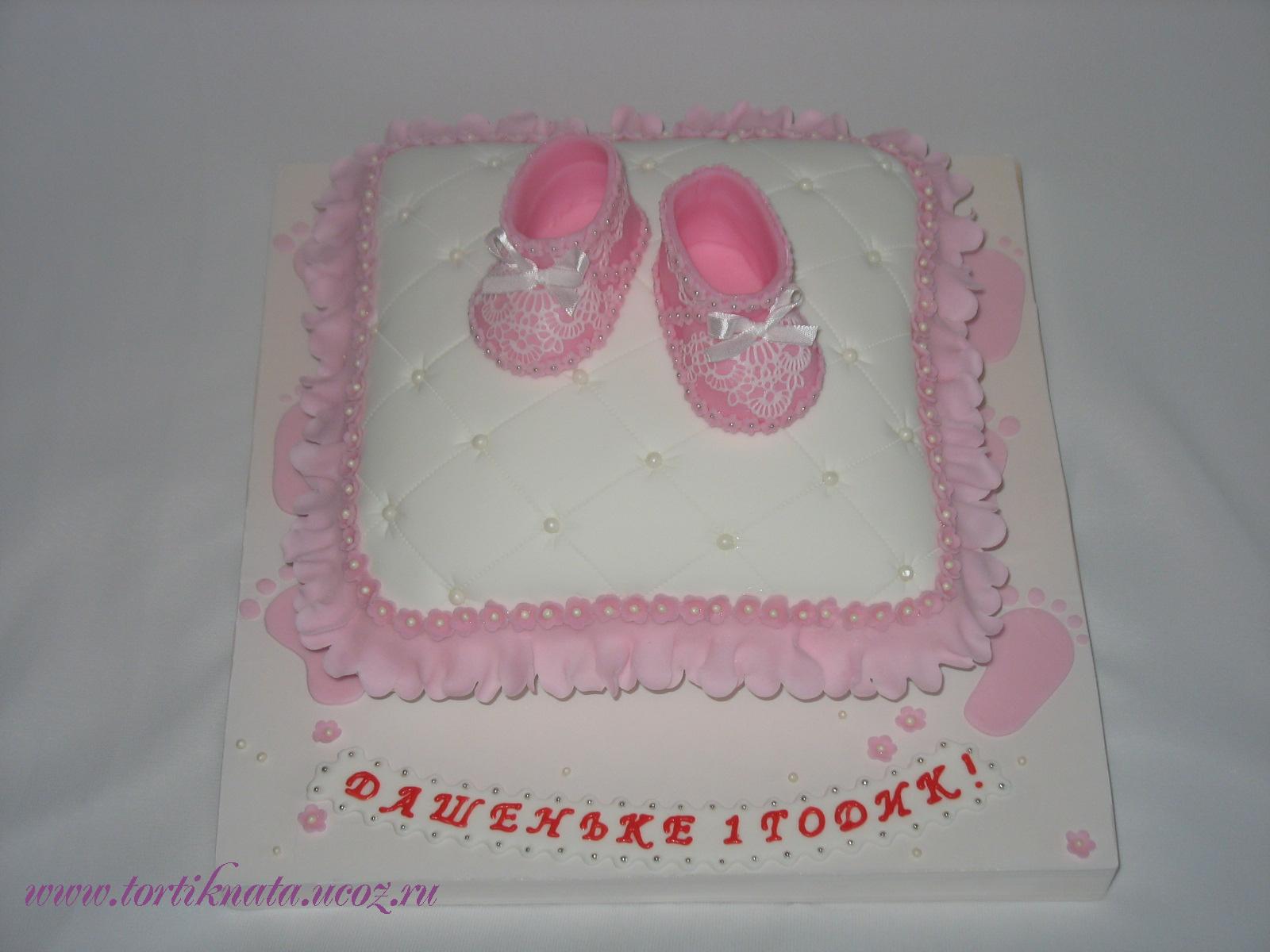 Торт для девочки на 1 год своими руками (бисквитный торт со) 55