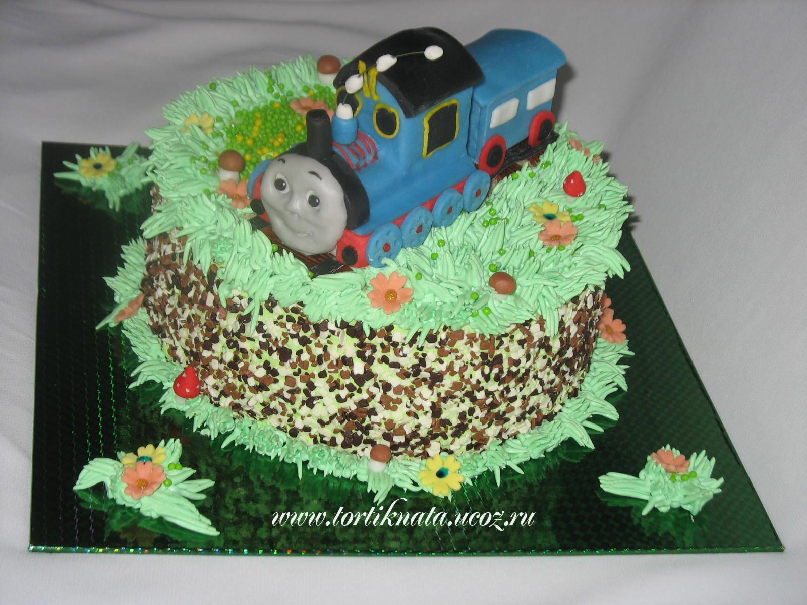 Торт паровозик своими руками рецепт с фото