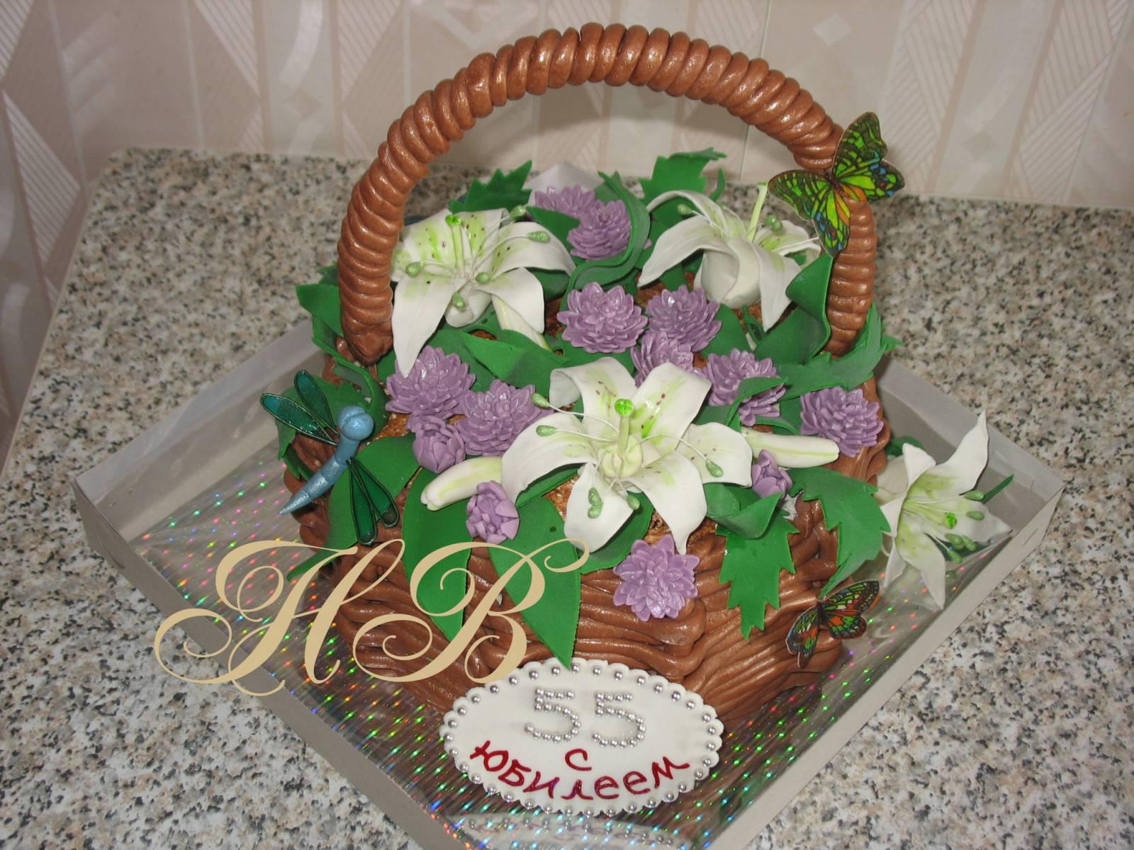 Торт мастер с цветами фото